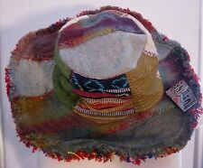 NEW Hippie Fav HAT T10 Recycled PATCHWORK Mojo Time Womens Mens Ful Sz Woodstock