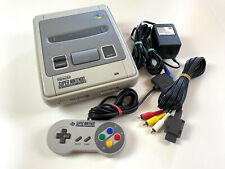 Super Nintendo SNES 1-Chip RGB Konsole + original Controller + Kabel #17