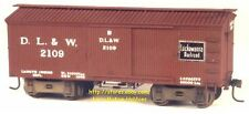 LMH Funaro F&C 3802 1890's OLD TIMEY Time Wood Boxcar Post Civil War MOW Service