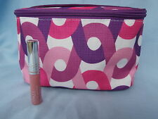 Clinique Lip Gloss (First date) Plus Cosmetic Bag .Trackable Post