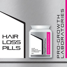 PRO-GROWTH WOMENS HAIR FOLLICLE STIMULATING PILLS HAIR RE GROW CAPSULES FAST
