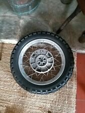 Bmw R100GS Paralever Rear Wheel And Tyre Akront r80gs paralever