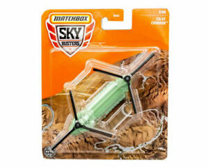 Matchbox Sky Busters CH-47 Chinook Helicopter Metal Dei-cast