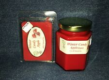 NEW Hand Poured Holiday Scented Soy Candles Tarts & Votives - Winter Candy Apple