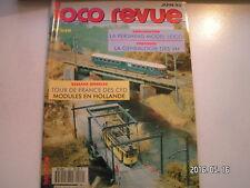 "**d Loco Revue n°573 Automotrice Z 7001 "" Zébulon "" en N / une 140 K PLM"