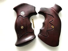 New Wooden Grip for Smith & Wesson K/L frame Round Butt Thumb Rest Free shipping
