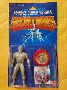 Vintage Secret Wars Iceman Figure