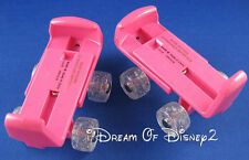 PINK ROLLER SKATES BUILD-A-BEAR TEDDY SIZE ADJUSTABLE PAW WHEEL SHOE ACCESSORY