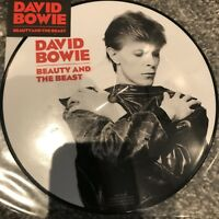 """DAVID BOWIE BEAUTY AND THE BEAST 40th ANNIVERSARY 7"""" PICTURE DISC VINYL NEW"""