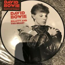 "DAVID BOWIE BEAUTY AND THE BEAST 40th ANNIVERSARY 7"" PICTURE DISC VINYL NEW"