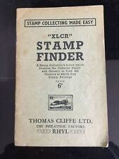 Xlcr Stamp Finder - Thomas Cliffe Philatelic Factory, North Wales