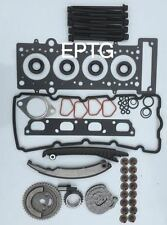 MINI COOPER ONE COOPER S 1.6 16V TIMING CHAIN KIT TESTA Set Bulloni R50 R52 R53