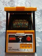 panorama screen snoopy game & watch nintendo biutiful!!!