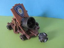 PLaymobil*Playmobil KANONE Groß Fahrbar + Kugel Berta Munition  Ritterburg 3268