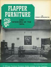 Antique 1920s Flapper Furniture & Interiors / Scarce Book