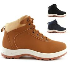MENS HIKING BOOTS WALKING HI TOPS TRAIL WINTER TREKKING ANKLE TRAINERS SHOES NEW