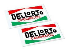 DELLORTO Classic Retro Car Motorcycle Decals Stickers