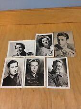 Original Fan Pictures G.Garson,J.HODIAK,H.Cronyn,D.Clark,V.Johnson,P.Lawford ~L3
