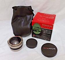 Titanium Super Wide Angle High Resolution Lens, 0.42X AF