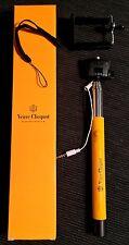 Champagne Veuve Clicquot Selfie Stick, Fits all standard size phones NEW RARE