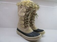 SOREL Joan Of Arctic Waterproof Impermeable Boots Tall Faux Fur Winter Snow 10