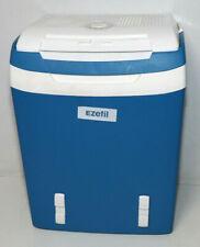 29 Liter EZetil K/ühlbox E32 M tragbare thermo-elektrische K/ühlbox 12 V und 230 V f/ür Auto//LKW//Boot//Steckdose blau-wei/ß