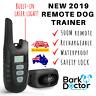 BARK DOCTOR PS2 TWO DOG TRAINING COLLAR 500m REMOTE BEEP VIBRATION LASER LIGHT