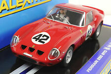 SCALEXTRIC C2970 FERRARI 250 GTO W/ HEADLIGHTS & TAILIGHTS NEW 1/32 SLOT CAR