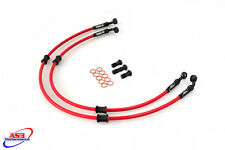 DUCATI 999 R 2004 AS3 VENHILL BRAIDED FRONT BRAKE LINES HOSES RACE
