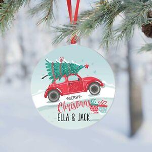 Christmas Tree Personalised  Decoration.Xmas Customised Bauble. 2021 Gift