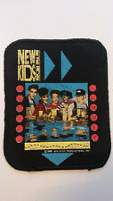 USED New Kids on the Block NKOTB vintage logo patch RARE music