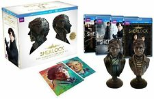 New Sherlock Limited Edition Blu-ray/DVD Combo Gift Set The Complete Seasons 1-3