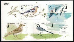 2020 Finland, Spring birds miniature sheet MNH.