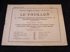 Partitur Le pavillon Bariton oder sax Tenor-