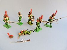 Soldats de plomb Little Legion - Waterloo chasseurs de la garde - Lead soldier