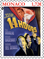 monaco 2019 GRACE KELLY 14 Hours Fourteen film cinema Henry Hathaway 1v mnh **