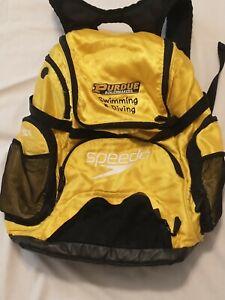 Speedo Large Teamster Backpack Swim Bag 35 L Liter Bright Marigold Purdue