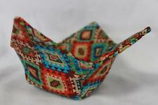 New Quilted Microwave Bowl Holder Bowl Cozy Bowl Potholder Aztec