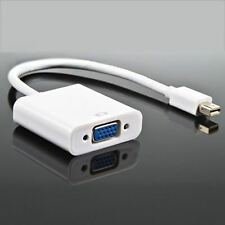 Thunderbolt Mini Displayport to VGA Cable Adapter For MacBook Pro Air iMAC