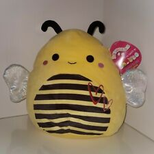 """Squishmallows 11"""" Sunny the Bee! NWT plush kellytoy limited edition valentine's"""