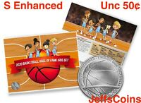 2020 S Basketball Hall of Fame ENHANCED Uncirculated Clad Half Dollar Kids 20CH