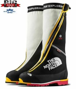 The North Face Men's Verto S8K boots  Black/White/Yellow/Red A0Z7KX9 SIZE 7