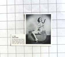 1938 Inga Andersen Danish Canadian Actress