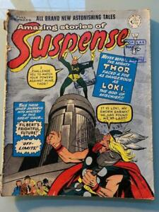 Suspense # 29 [Journey Into Mystery # 85 1st Loki] Alan Class