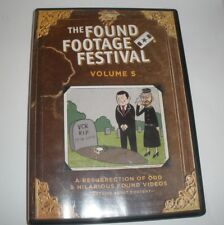 The Found Footage Festival Vol 5 DVD Recorded Oriental Theatre Milwaukee WI
