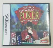 World Championship Poker: Deluxe Series, Nintendo DS, 2005, Complete, Tested