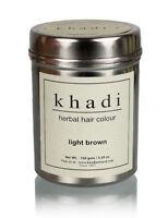 Khadi Natural Herbal Light Brown Henna Hair Color Natural Product -150 gm