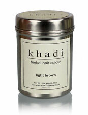 Khadi Natural Herbal Light Brown Henna Hair Color Natural Product -150 gm