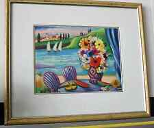 Shlomo Alter limited edition Serigraph - 203/490, Professionally matted & framed