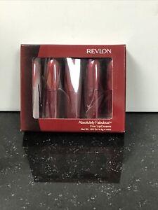 NIB Revlon Absolutely Fabulous Five Lipcream 4.4g each
